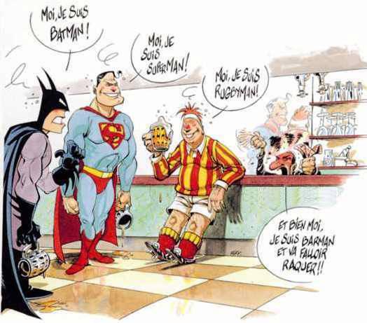 Wallpaper les heros Humour & Insolite