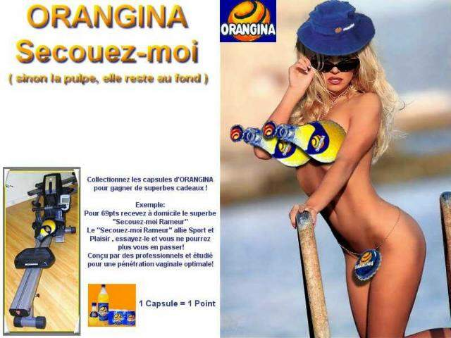 Wallpaper orangina Humour & Insolite