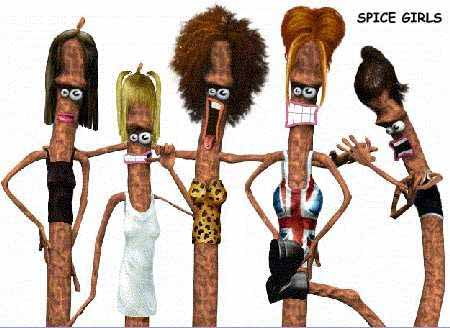 Wallpaper Humour & Insolite spice girl
