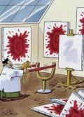 Wallpaper Humour & Insolite peintre