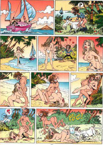 Wallpaper Humour sexy chevre