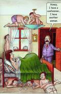 Wallpaper Humour sexy confession