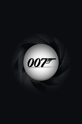 Wallpaper iPhone 007 James Bond