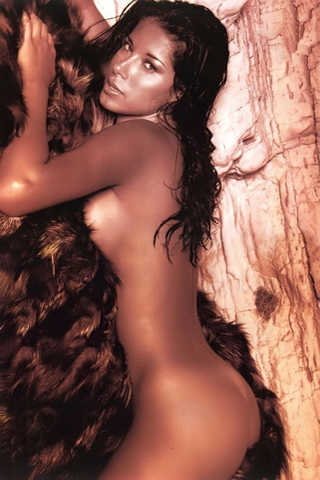 Wallpaper Aida Yespica hot iPhone