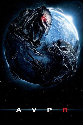 Wallpaper iPhone Alien VS Predator Requiem