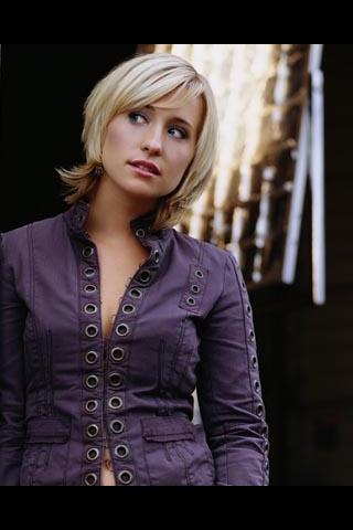 Wallpaper iPhone Allison Mack