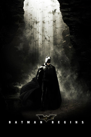 Wallpaper iPhone Batman Begins