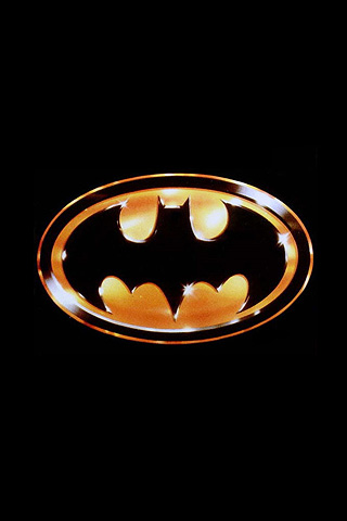 Wallpaper iPhone Batman logo