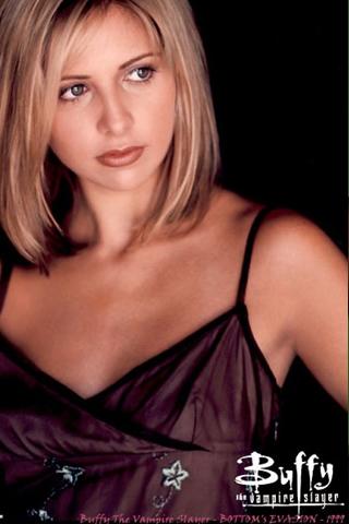 Wallpaper Buffy contre les vampires iPhone
