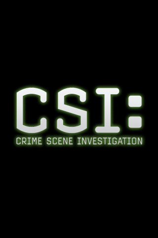 Wallpaper CSI CIS Crime Scene Investigation iPhone