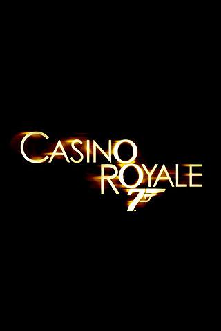 Wallpaper Casino Royale logo iPhone