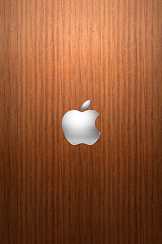 Wallpaper iPhone Design Apple logo bois