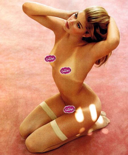 Wallpaper Doutzen Kroes nue iPhone