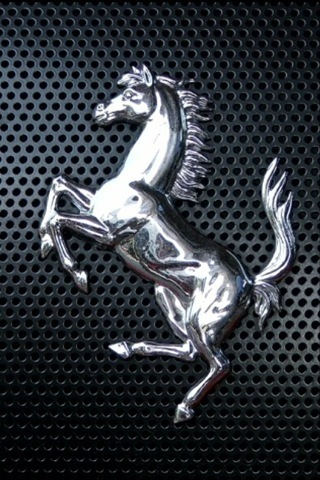 Wallpaper iPhone Ferrari prancing stallion