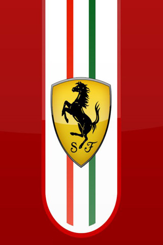 Wallpaper Ferrari voiture iPhone