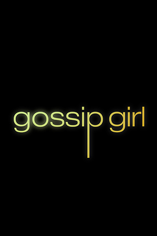 Wallpaper iPhone Gossip Girl