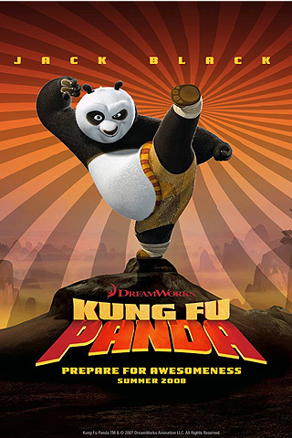 Wallpaper iPhone Kung Fu Panda