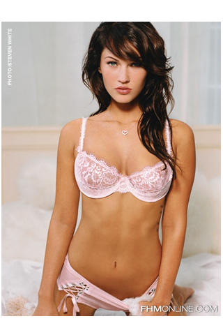 Wallpaper iPhone Megan Fox lingerie