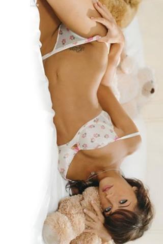 Wallpaper iPhone Megan Fox lingerie