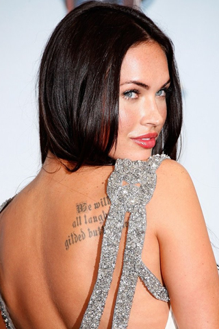Wallpaper iPhone Megan Fox portrait