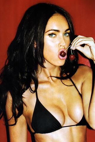 Wallpaper iPhone Megan Fox sexy