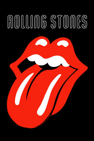 Wallpaper Rolling Stones iPhone