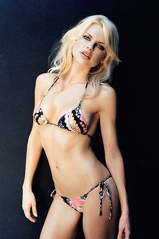 Wallpaper iPhone Sophie Monk sexy bikini