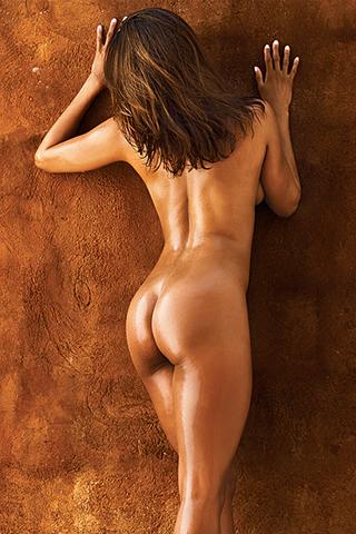 Wallpaper Stacey Dash nue de dos iPhone