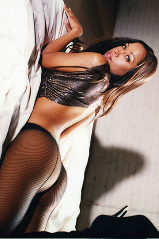 Wallpaper iPhone Stacey Dash sexy collants