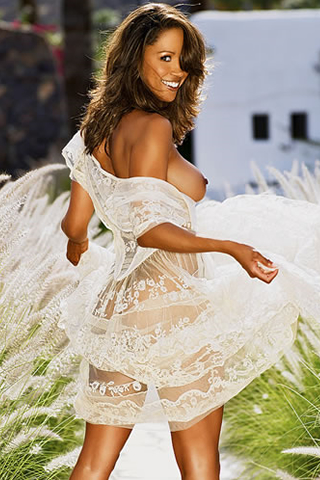 Wallpaper iPhone Stacey Dash sexy tenue transparente