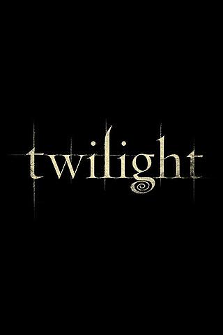 Wallpaper Twilight logo iPhone