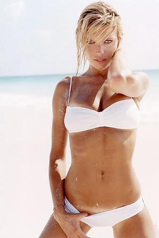 Wallpaper iPhone Veronica Varekova hot bikini