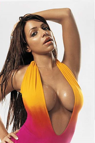 Wallpaper iPhone Vida Guerra sexy hot