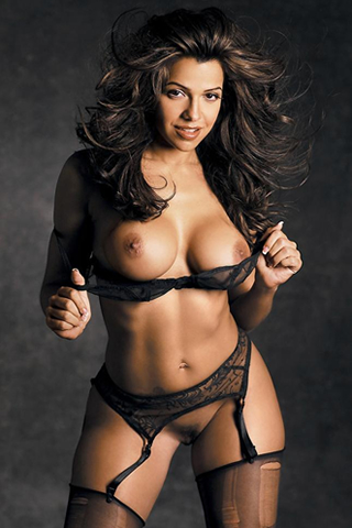Wallpaper Vida Guerra sexy nue iPhone