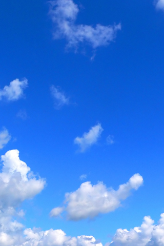 Wallpaper iPhone ciel nuages