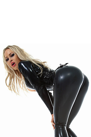 Wallpaper iPhone kataxenna latex noir cul.