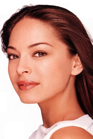 Wallpaper kristin kreuk portrait iPhone