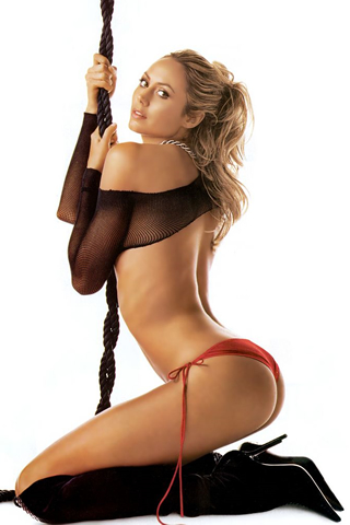 Wallpaper iPhone stacy keibler sexy petite culotte