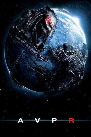 Wallpaper Alien VS Predator Requiem iPhone