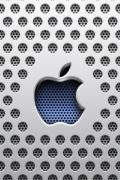 Wallpaper iPhone Design Apple grille
