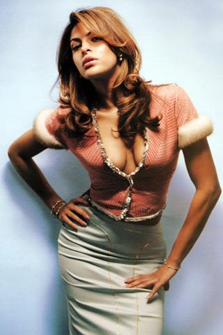 Wallpaper Eva Mendes iPhone