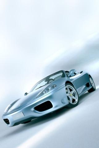Wallpaper Ferrari 360 spider voiture iPhone