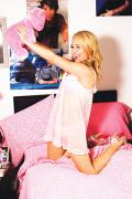 Wallpaper iPhone Hayden Panettiere nuisette au lit