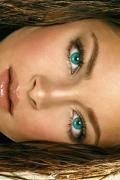 Wallpaper iPhone Kristin Kreuk regard yeux