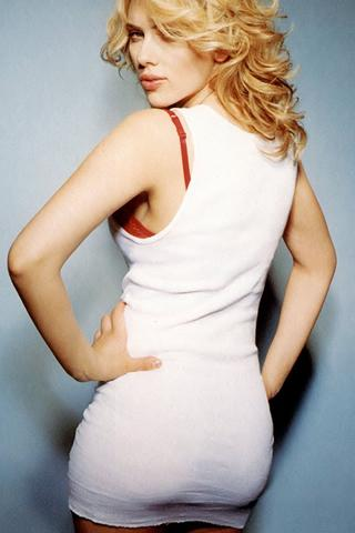 Wallpaper Scarlett Johansson sexy iPhone