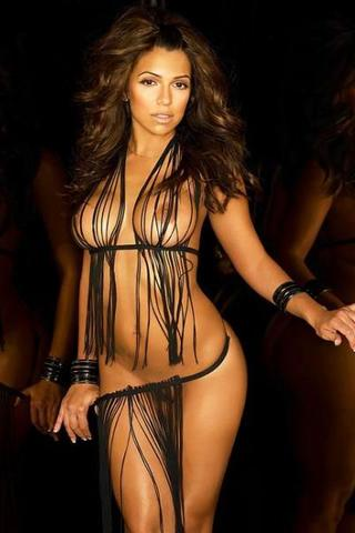 Wallpaper Vida Guerra sexy iPhone