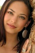 Wallpaper iPhone kristin kreuk portrait