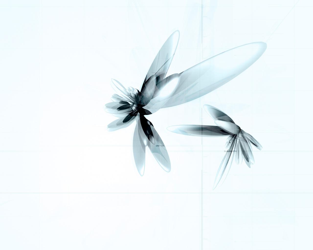 Wallpaper bleu Design Web