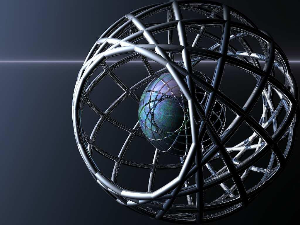 Wallpaper planete Design Web