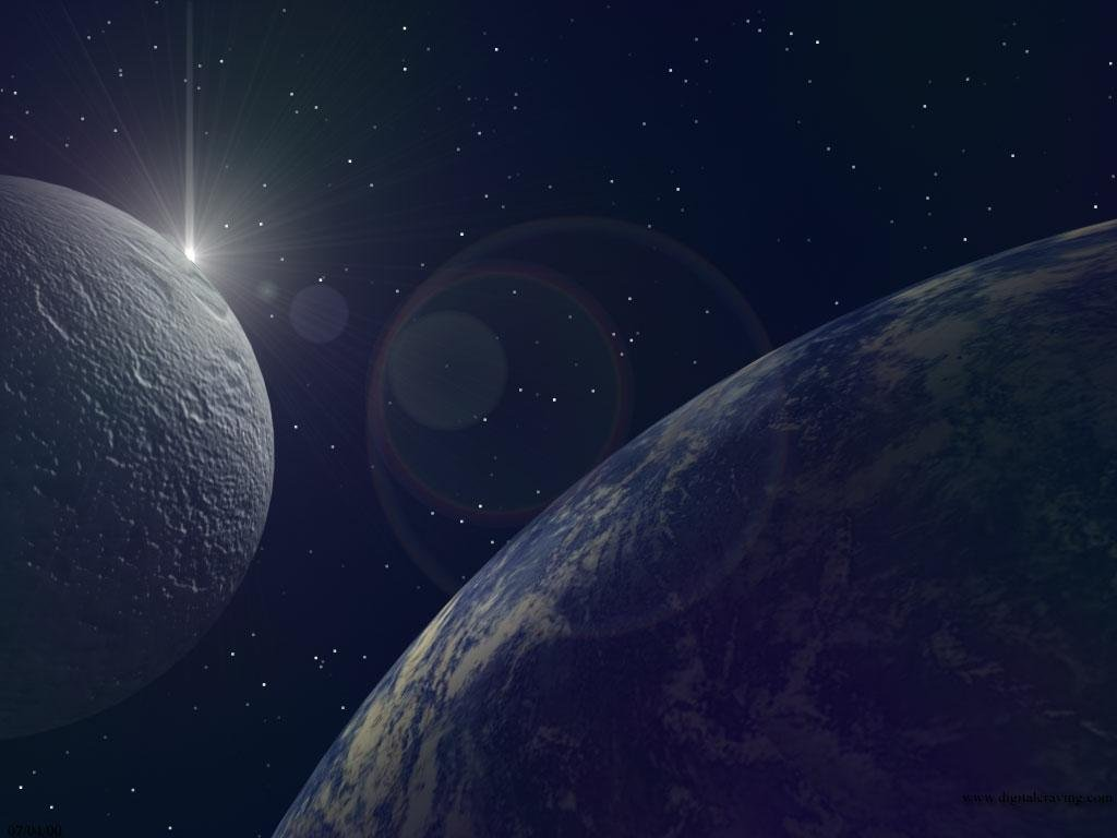 Wallpaper planete terre Design Web